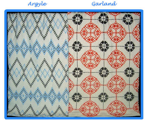 Click for more details of Afghan Creations 2 (swedish weaving) by Swedish Weave Designs