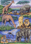 Click for more details of African Wildlife (cross stitch) by maia