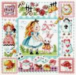 Click for more details of Alice in Wonderland (cross stitch) by Soda Stitch