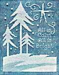 Click for more details of All is Bright (cross stitch) by Stoney Creek