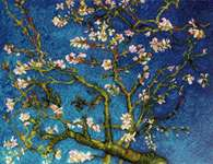 Click for more details of Almond Blossom after V. van Gogh's Painting (cross stitch) by Riolis