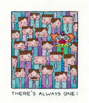 Click for more details of Always One (cross stitch) by Peter Underhill