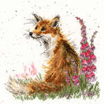 Click for more details of Amongst the Foxgloves (cross stitch) by Bothy Threads