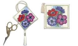 Click for more details of Anemones Stitcher's Accessories (cross stitch) by Textile Heritage