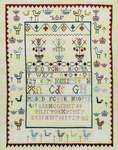 Click for more details of Ann Gardner 1723 (cross stitch) by Hands Across the Sea Samplers