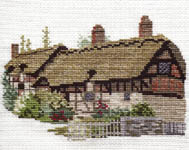 Click for more details of Ann Hathaways Cottage (cross stitch) by Rose Swalwell
