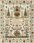 Click for more details of Ann Tong Uffindell 1835 (cross stitch) by Hands Across the Sea Samplers