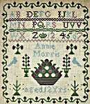 Click for more details of Annie Morris (cross stitch) by Hands Across the Sea Samplers