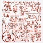 Click for more details of Antique Character Sampler (cross stitch) by Thea Gouverneur