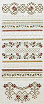 Click for more details of Antique Roses (hardanger) by Patricia Bage