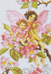 Click for more details of Apple Blossom Fairies (cross stitch) by Luca - S