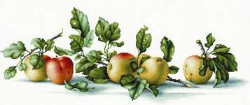Click for more details of Apples (cross stitch) by Luca - S