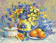 Click for more details of Apricot Preserve (tapestry) by Royal Paris