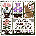 Click for more details of April (cross stitch) by The Prairie Schooler