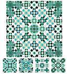 Click for more details of Aquamarine (cross stitch) by Carolyn Manning