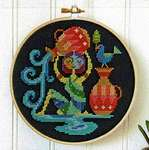 Click for more details of Aquarius (cross stitch) by Satsuma Street