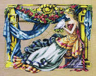 Click for more details of Athena ( Goddess of Wisdom) (cross stitch) by Mirabilia Designs
