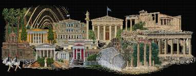 Click for more details of Athens (cross stitch) by Thea Gouverneur