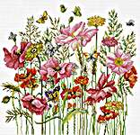 Click for more details of August Bouquet (cross stitch) by Luca - S