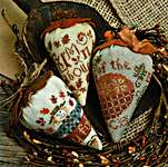 Click for more details of Autumn Berries (cross stitch) by Erica Michaels
