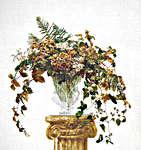 Click for more details of Autumn Bouquet (cross stitch) by Thea Gouverneur