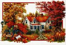 Click for more details of Autumn Comes (no-count cross stitch) by Needleart World