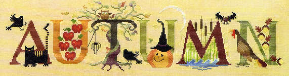 Click for more details of Autumn (cross stitch) by The Cross-Eyed Cricket