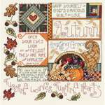 Click for more details of Autumn (cross-stitch kit) by Janlynn