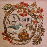 Click for more details of Autumn Dream (cross stitch) by Cottage Garden Samplings
