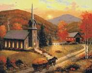 Click for more details of Autumn in Vermont (cross stitch) by Kustom Krafts