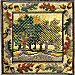 Click for more details of Autumn Oaks (tapestry) by Rose Swalwell