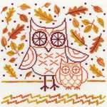 Click for more details of Autumn Owl (cross stitch) by Bothy Threads