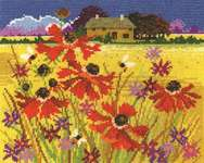 Click for more details of Autumn Pasture (cross stitch) by DMC Creative