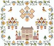 Click for more details of Autumn Sampler (cross-stitch pattern) by Kappie Originals