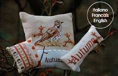 Click for more details of Autumn Trio (cross stitch) by Serenita di Campagna
