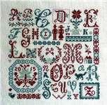 Click for more details of Aux Couleurs De Digoin (cross stitch) by Jardin Prive