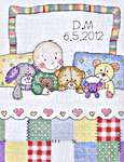 Click for more details of Baby Bedtime (cross stitch) by Anchor