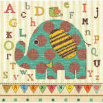 Click for more details of Baby Elephant ABC (cross stitch) by Dimensions
