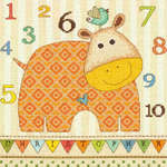 Click for more details of Baby Hippo 123 (cross stitch) by Dimensions