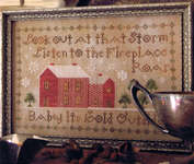 Click for more details of Baby, it's cold outside (cross stitch) by Heartstring Samplery