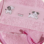 Click for more details of Baby Towelling (cross stitch) by Rico Design