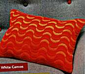 Click for more details of Bargello Wave Cushion Kit (tapestry) by Anchor