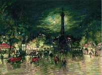 Bastille after K. Korovin's Painting