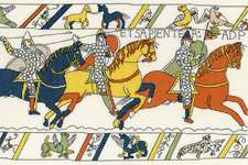 Click for more details of Bayeaux Tapestry : The Cavalry (cross stitch) by Bothy Threads