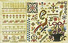 Click for more details of Bayliwick (cross stitch) by Rosewood Manor