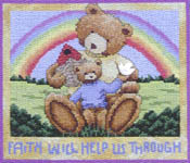 Click for more details of Bears for all Seasons (cross stitch) by Stoney Creek