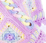Click for more details of Beautiful Borders Baby Blankets (crochet pattern) by Annie's Attic