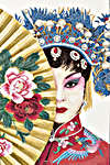 Click for more details of Beauty of Asia (cross-stitch kit) by Lanarte