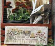 Click for more details of Bee Garden (cross stitch) by Heartstring Samplery