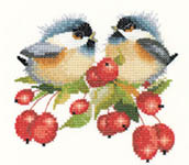 Click for more details of Berry Chick-Chat (cross stitch) by Valerie Pfeiffer